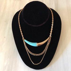 Silpada Coastal Color Turquoise Pendant Necklace